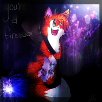 You're a Firework! - Happy Birthday Hawkey!! by shyvyana