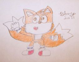 """Classic Miles """"Tails"""" Prower by BboyStudios97"""