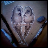 Love Birds by JordanMendenhall