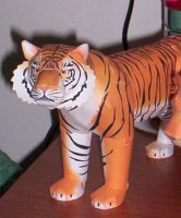 Tiger Papercraft by Inuchan1986