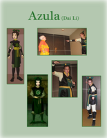 Cosplay - Earth Kingdom Azula by AniDragon