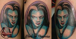 Lily Munster by dottcrudele