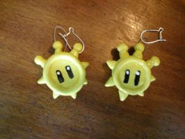 Shine Sprite Earrings by Whitey594