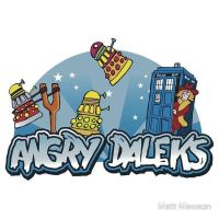 Angry Daleks by TheSrN