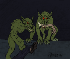 Lovecraftian Ghouls by Mara999