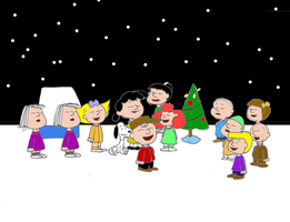 50 years of A Charlie Brown Christmas by Trey-Vore