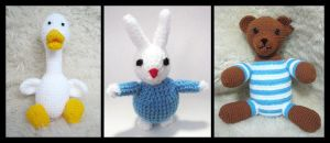 Crochet Creatures by aneesah