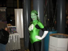 Green Lantern Lady by Skyfirefox