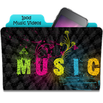 Ipod Music Videos Folder Icon by thomasina-jo