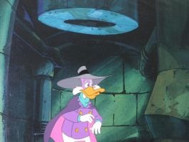 Darkwing in the Sewer by LordNegaduck