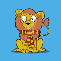 Harry Potter Lion by ShadowMaginis