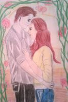 Edward and Bella by MyCurtainHauntsME