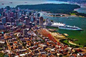 Vancouver Aerial HDR by Anndi