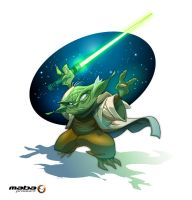 Yoda - vecto-Fanart by MabaProduct