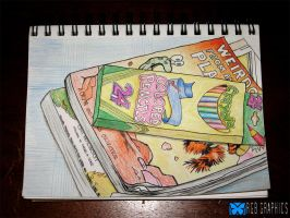 Colored Pencil Still Life by KnightRanger