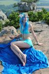 blue mermaid 9 by MerlinsMoonShadow