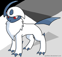 Absol by Panthen