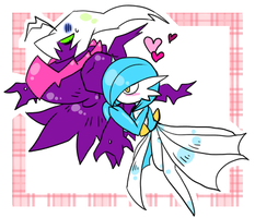 Gardevoir x Darkrai by kgym
