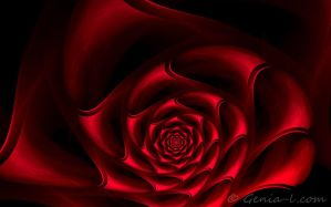 Red Satin by Genia-L
