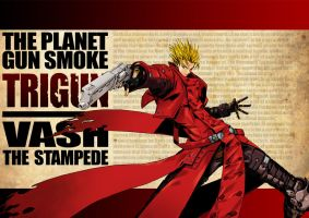 Vash The Stampede by the-hary