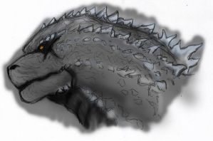 Gojira Colored by ConstantM0tion
