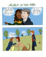 Cracked Actor Fancomic - A Walk In The Park by Mutantenfisch