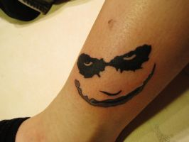 My Joker Tattoo by TerisRrogen