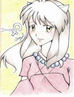Inuyasha Female by DaVolcomQueen
