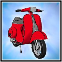 Vespa 50 Special Freestyle by ifilgood