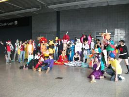 Pokemon Group 002 May 2014 London Comic Con by Vande-Bot