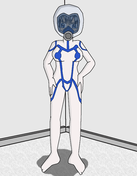 Latex Satsuki with Helmet by JDogindy