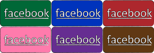 facebook simple icon by THE-GREMLIN