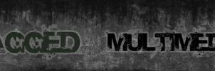 Jagged Multimedia Banner by wizdum