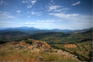Mycene -- larger moutain view by mr-lacombe