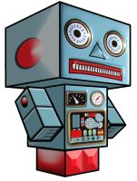 Cubee - Toy Robot 1 by 7ater