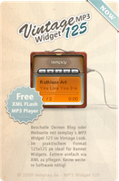 MP3 Widget 125 by templay-team