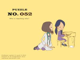 Puzzle 052 - Who is Teaching Who? by nattherat