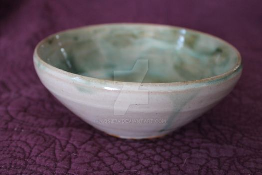 green bowl by Absie74