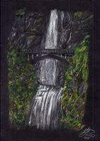Waterfall by mustingel