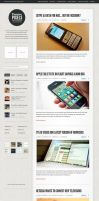 Premium Pixels WordPress Theme by ormanclark