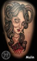 my art on tattoo by 77 Tattoo Studio by MWeiss-Art