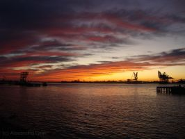 Colors of the sunset. by Rina-Monico
