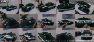 NFSW 2006 Dodge Charger Police Cruiser by claudespeedlc