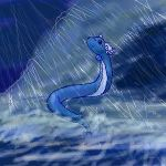 In the Storm by DragonessBahamut