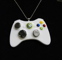 Xbox Remote Controller Pendant by 2littleKisses