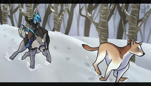 RoK|Snow Chase by DancingFerret