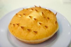 Durian doughnut by patchow