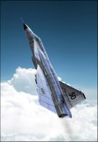 Saab viggen : Going up by rOEN911