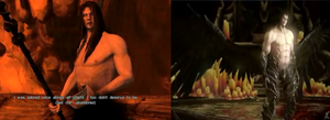 And this is supposed to be the same guy? by Malefor666