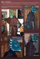 Iksar Costume 'Ataraxia' - 2004 by Nightlyre